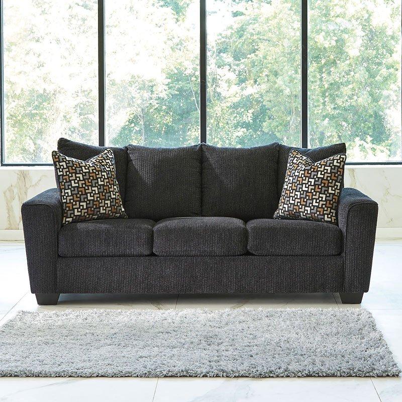 Wixon Slate Living Room Set Benchcraft Furniture Cart
