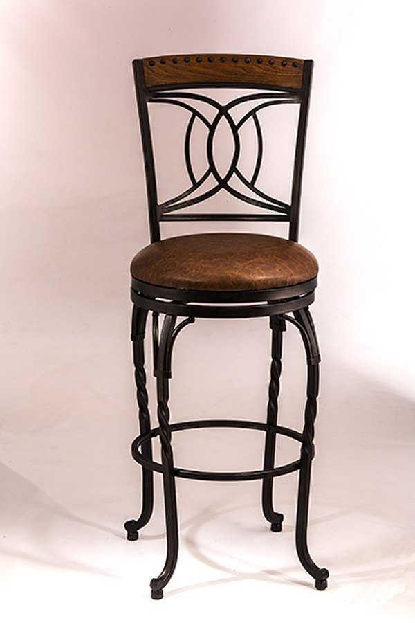 Donovan Swivel Counter Height Stool Hillsdale Furniture