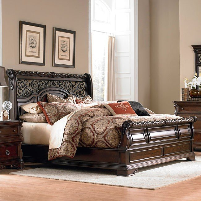 Arbor Place Sleigh Bedroom Set Liberty Furniture, 1
