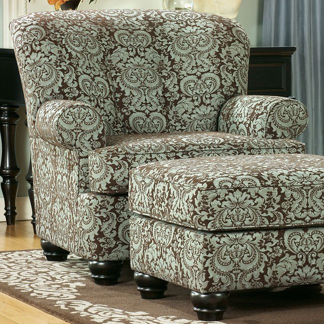 Crawford - Chocolate Accent Chair