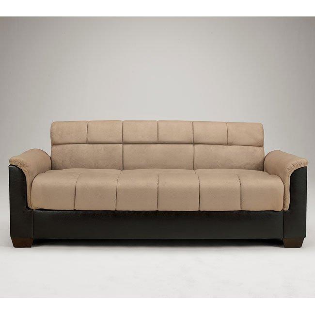 Roxanne Mocha Flip Flop Sofa W Storage