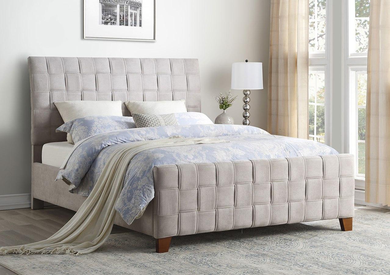 Northside Upholstered Bed Homelegance Furniture Cart