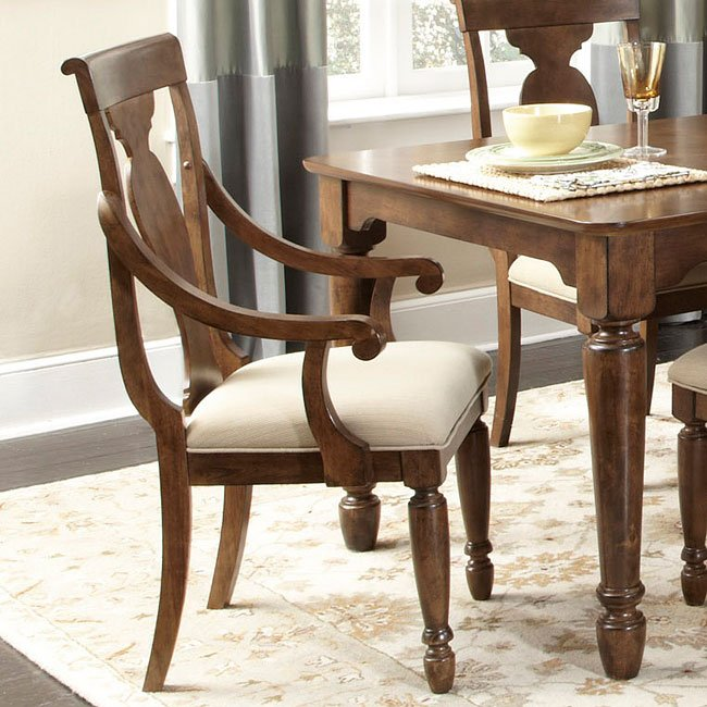 Rustic Dining Room Furniture Sets: Rustic Traditions Oval Dining Room Set Liberty Furniture