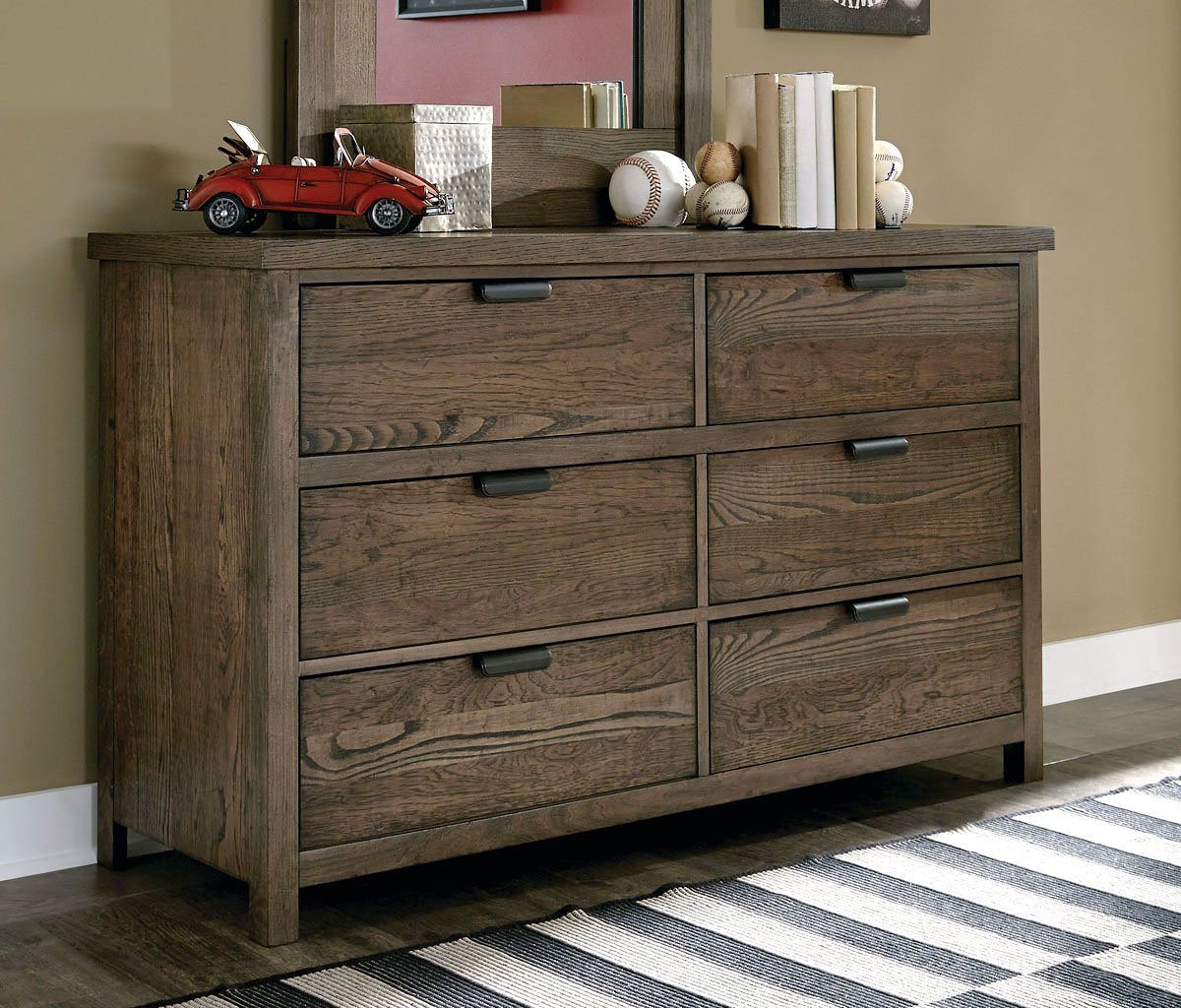 Fulton County 6 Drawer Dresser