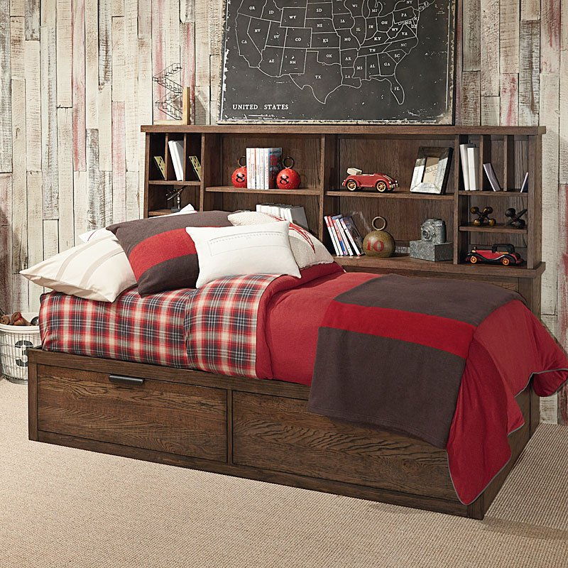 Fulton County Bookcase Lounge Bed