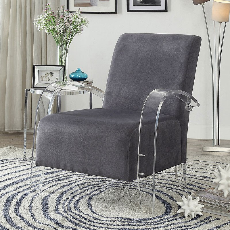 Brilliant Malyssa Accent Chair Charcoal Ibusinesslaw Wood Chair Design Ideas Ibusinesslaworg