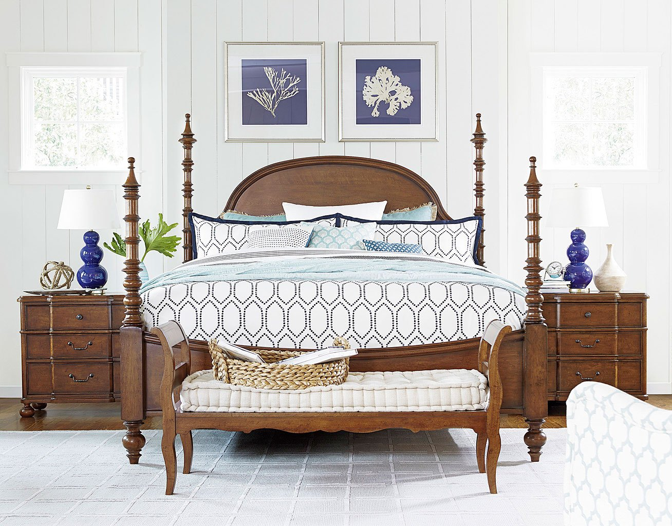 Dogwood Poster Bedroom Set Low Tide Paula Deen Home