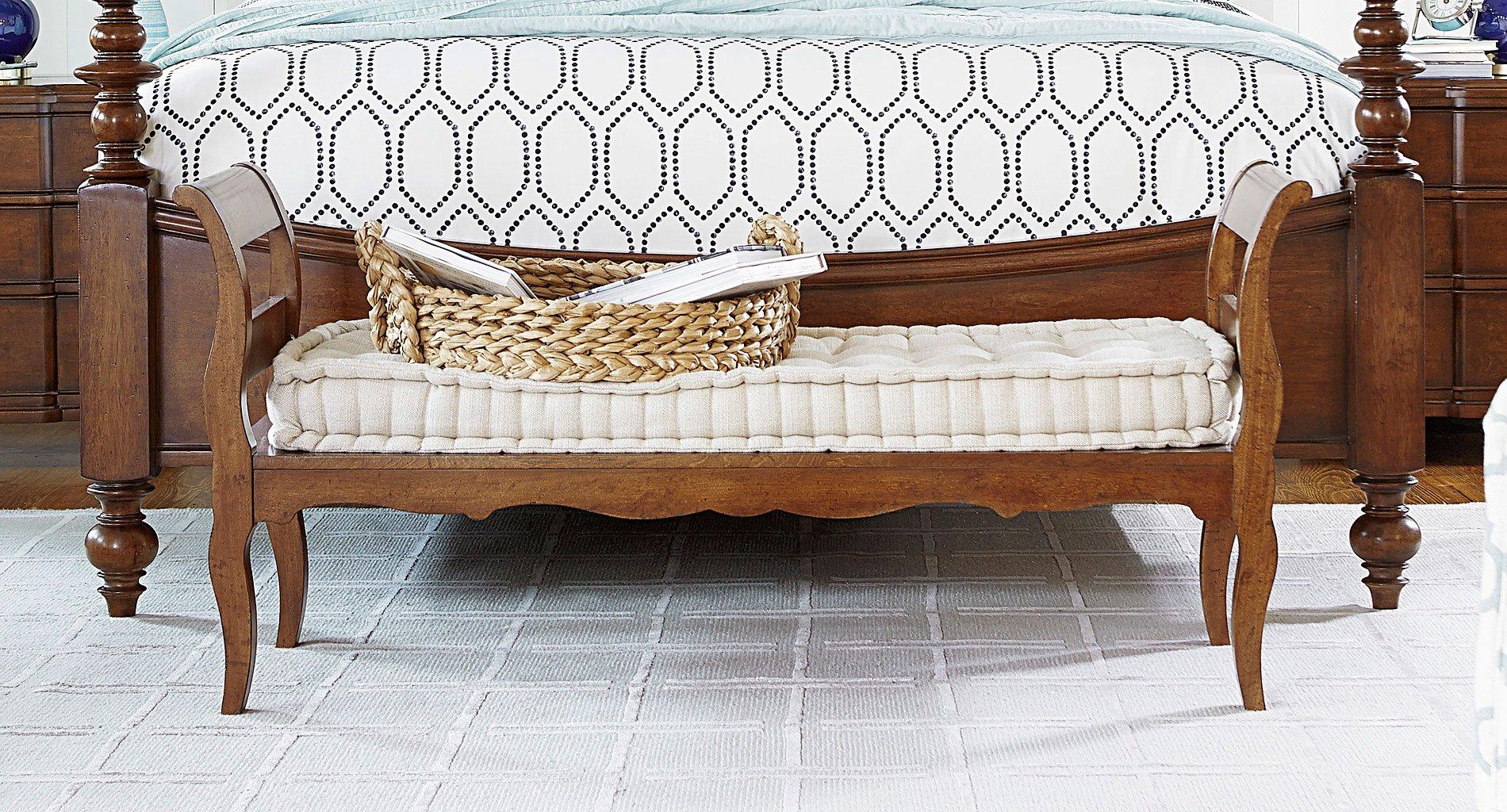 Dogwood Bed End Bench Low Tide Paula Deen Home