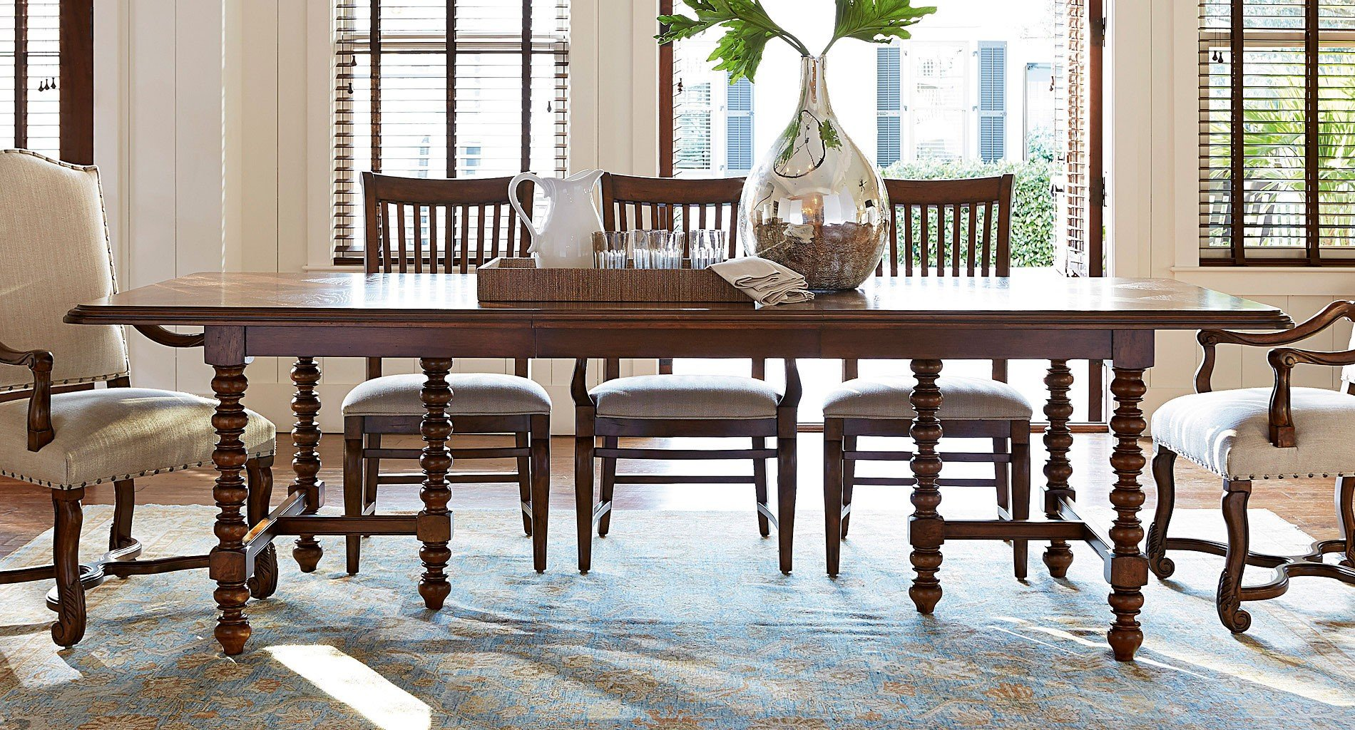 Dogwood Rectangular Dining Table Low Tide