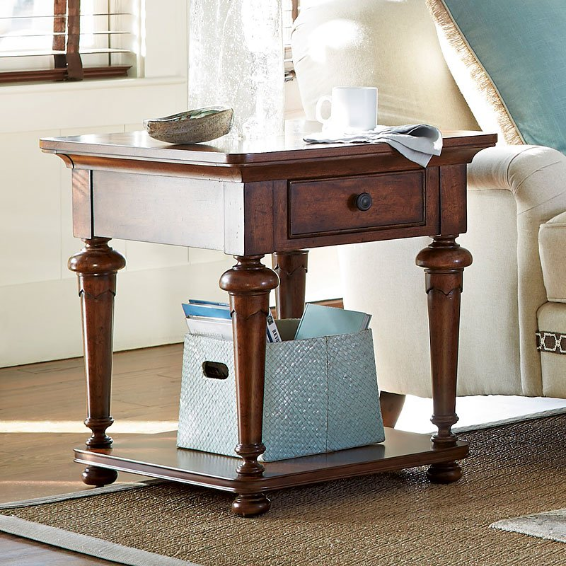 Dogwood End Table (Low Tide)
