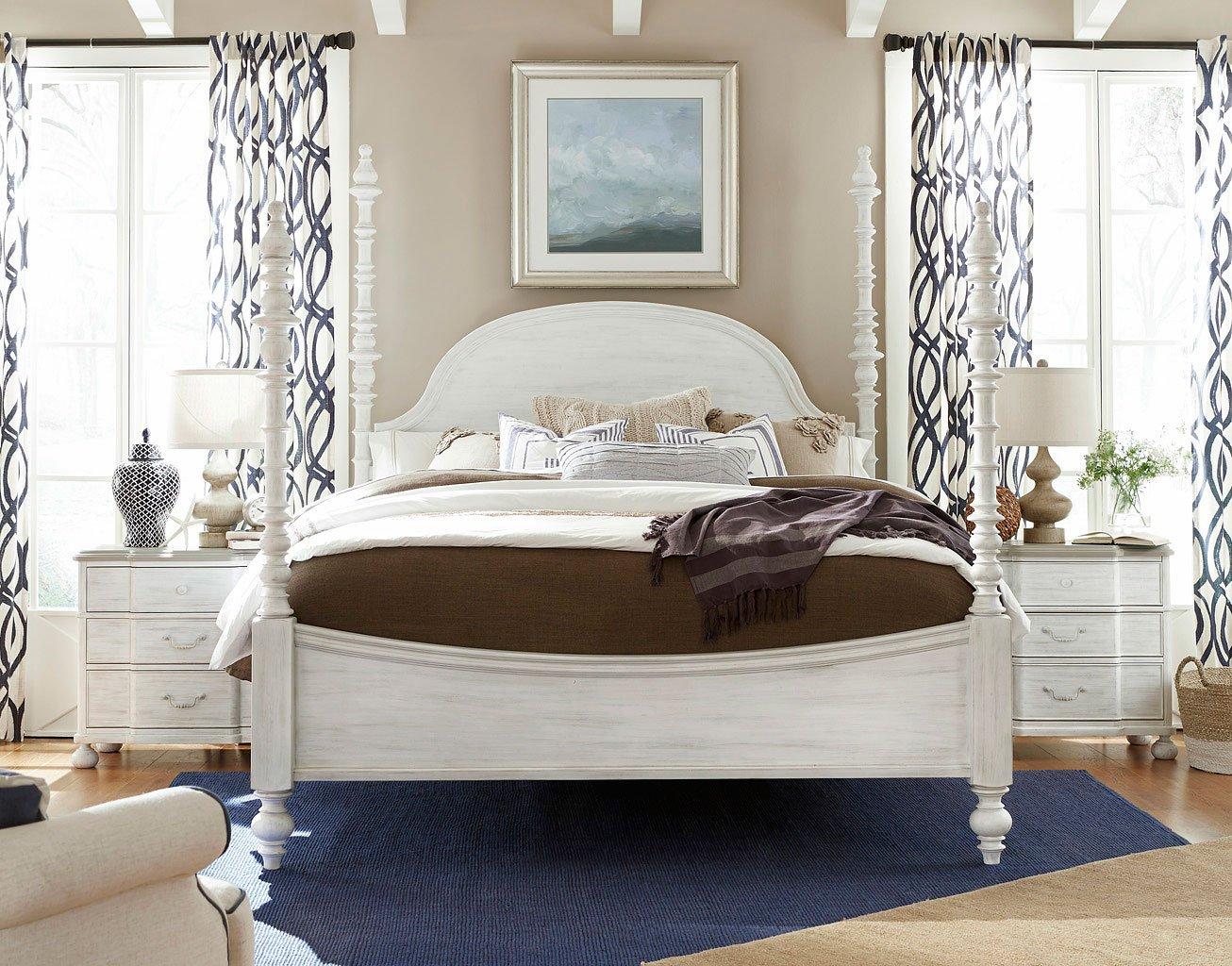 Dogwood Poster Bedroom Set Blossom Paula Deen Home Furniture Cart