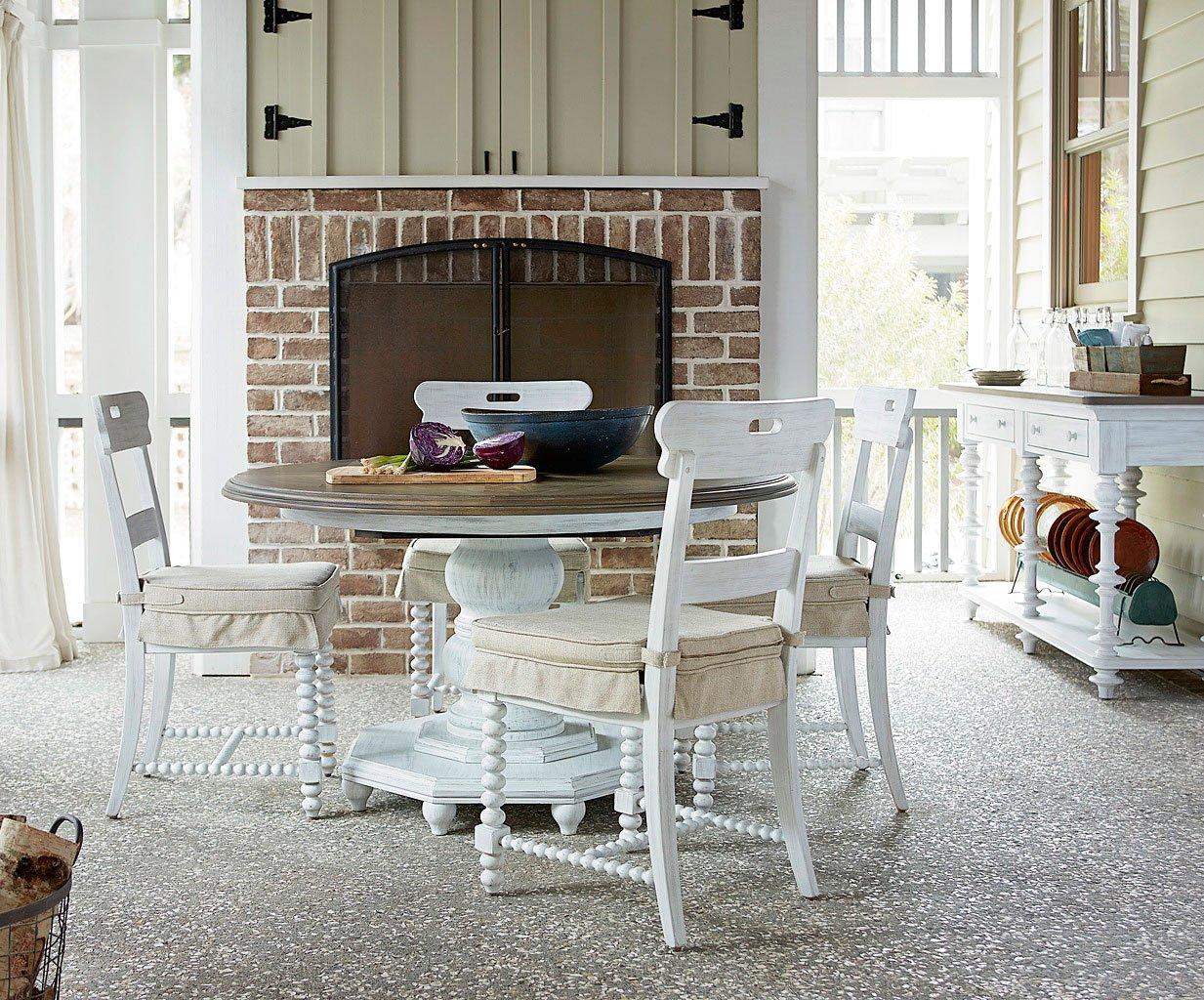 Dogwood Breakfast Set W Kitchen Chairs Blossom Paula Deen Home 1