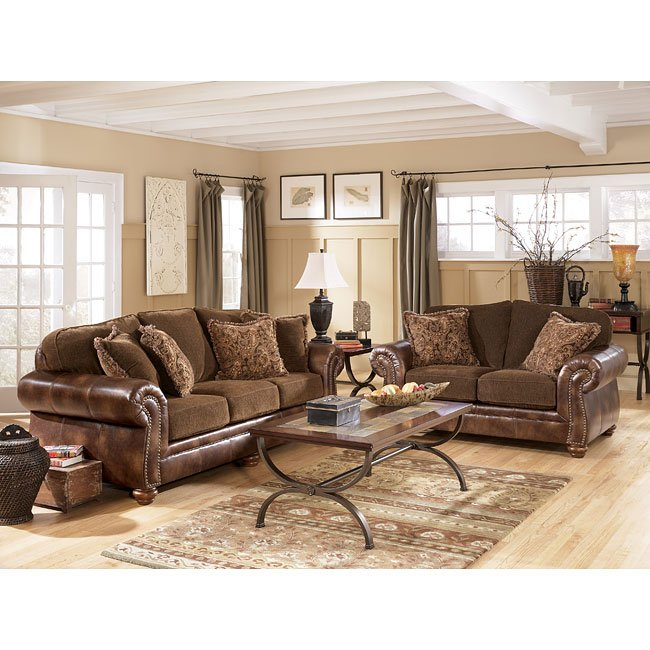 Harrington   Truffle Living Room Set