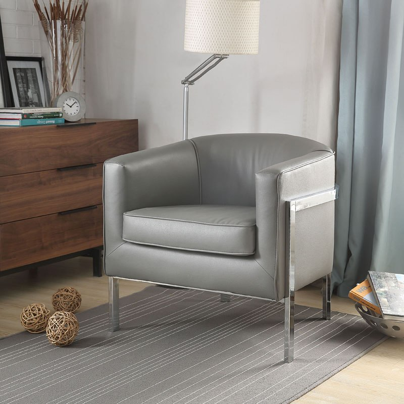Fantastic Tiarnan Accent Chair Vintage Gray Ibusinesslaw Wood Chair Design Ideas Ibusinesslaworg