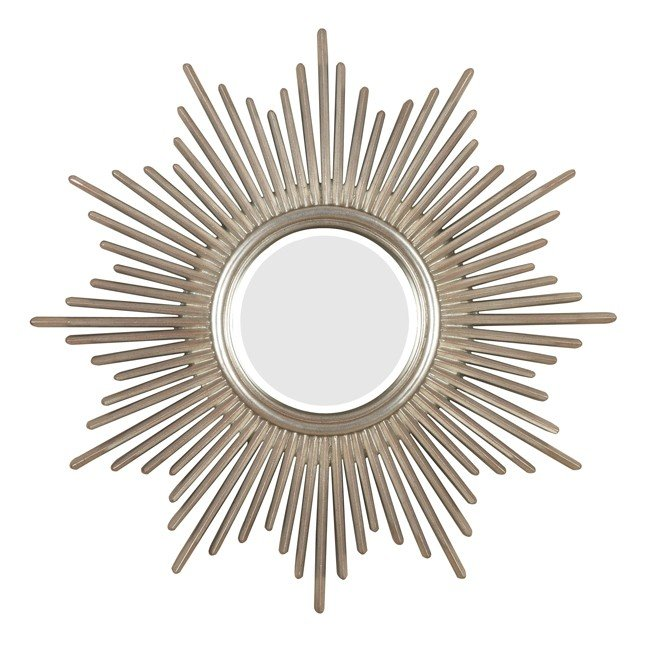 Reyes Wall Mirror (Antique Silver)