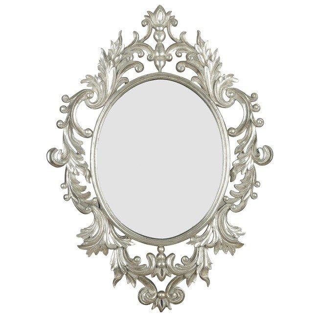 Louis Wall Mirror (Silver Leaf)