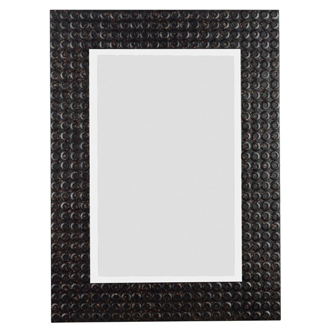 Murphy Wall Mirror (Black Multi-Finish)
