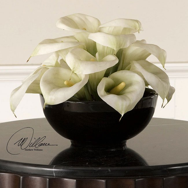 Yin Yang Calla Arrangement (Set of 3)