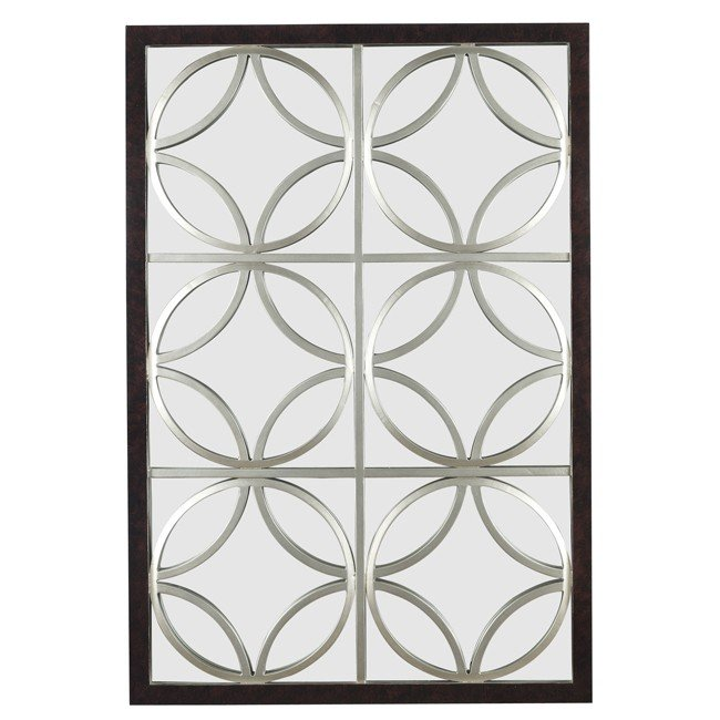 Gable Wall Mirror (Walnut)