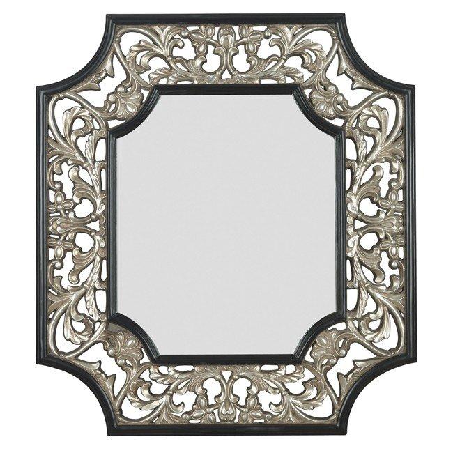 Maddox Wall Mirror (Silver)