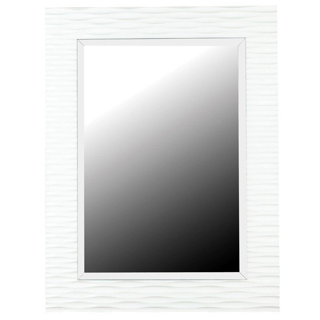 Kendrick Wall Mirror (Gloss White)