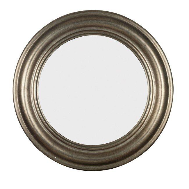 Nob Hill Wall Mirror (Antique Silver)