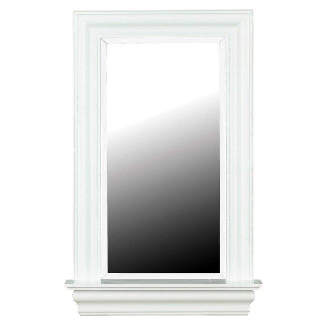 Juliet Wall Mirror (White Gloss)