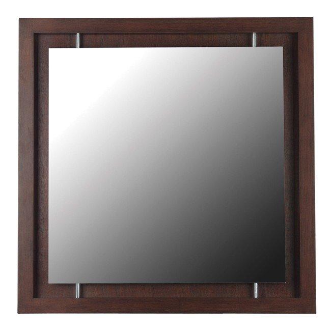 Potrero Wall Mirror (Mahogany)