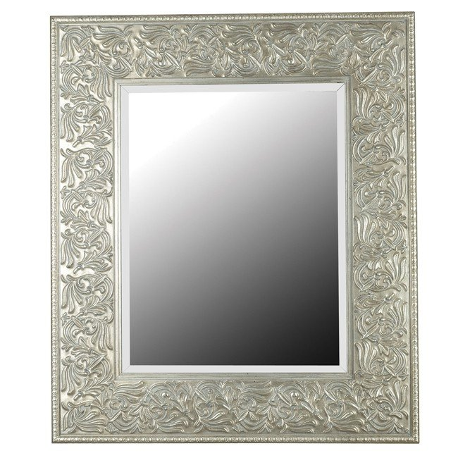 Lafayette Wall Mirror (Gilded Antique Silver)