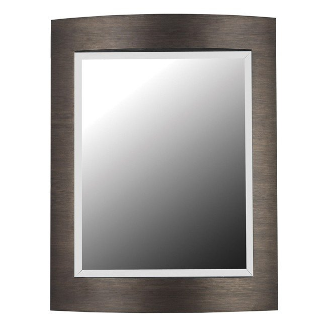Folsom Wall Mirror (Brushed Bronze)