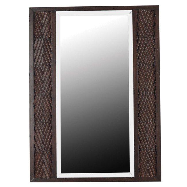 Valencia Wall Mirror (Mahogany)