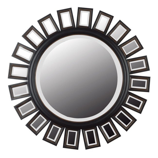 Straus Wall Mirror (Deep Espresso)