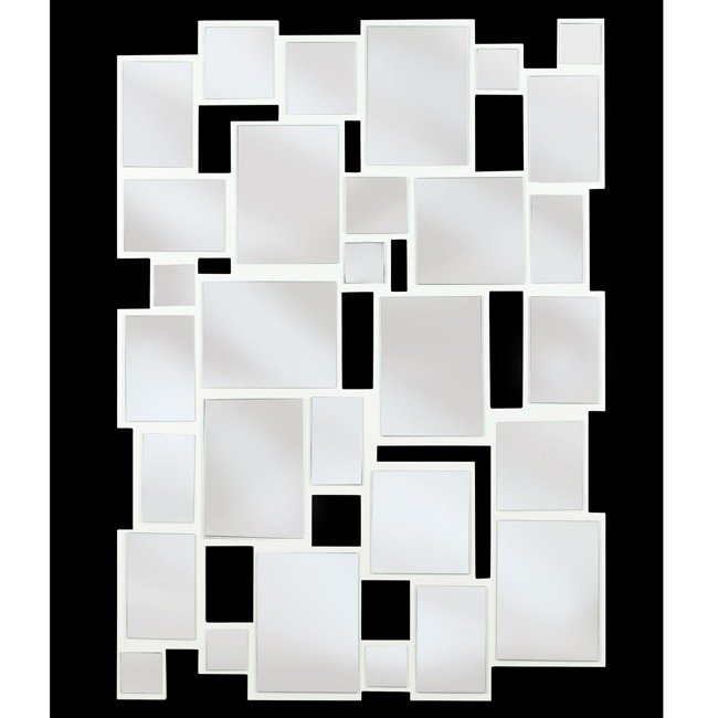 Hockney Wall Mirror (Gloss White)