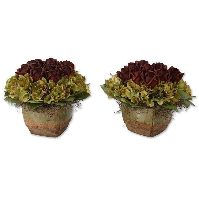 Bed Of Chocolate Roses (Set of 2)