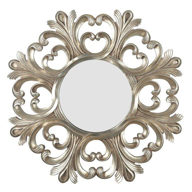 Triomphe Wall Mirror (Silver)