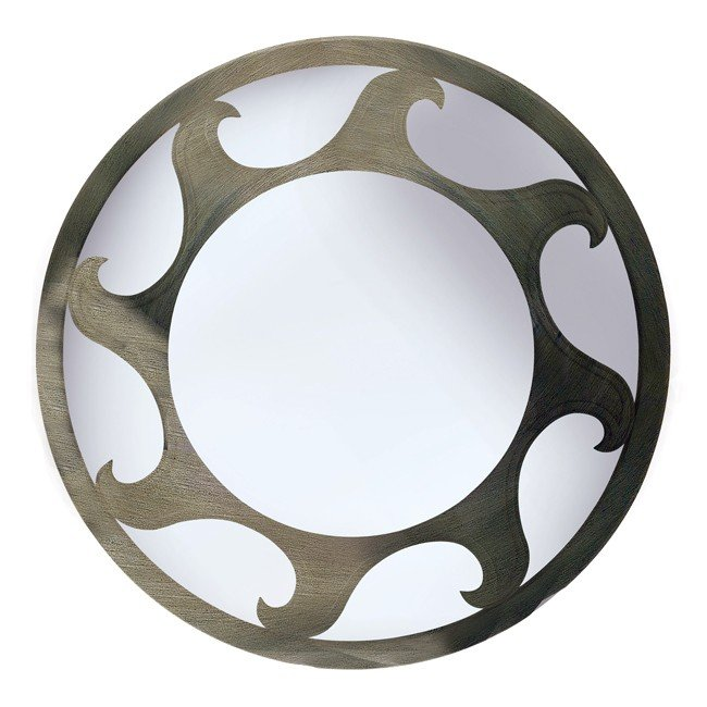 Ra Wall Mirror (Antique Metal)