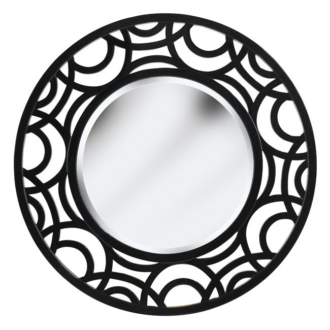 Current Wall Mirror (Gloss Black)