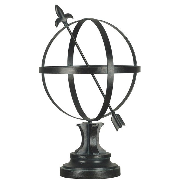 Armillary (Garden Bronze Finish with Gold Highlights)