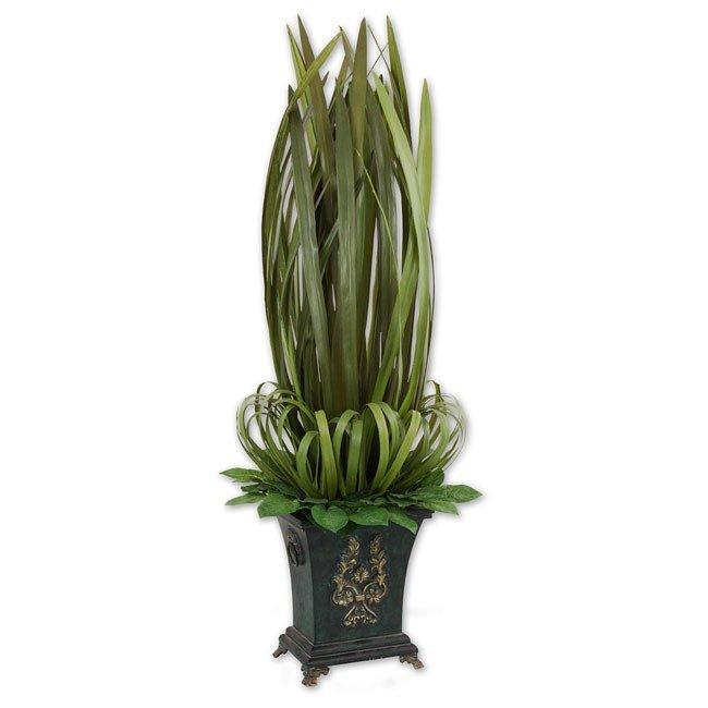 Orchid Leaf Obelisk