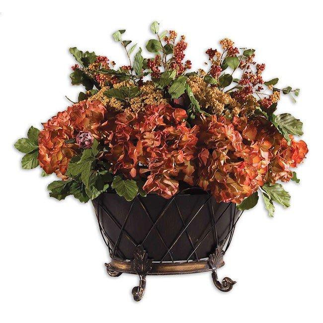 English Autumn Floral Bouquet