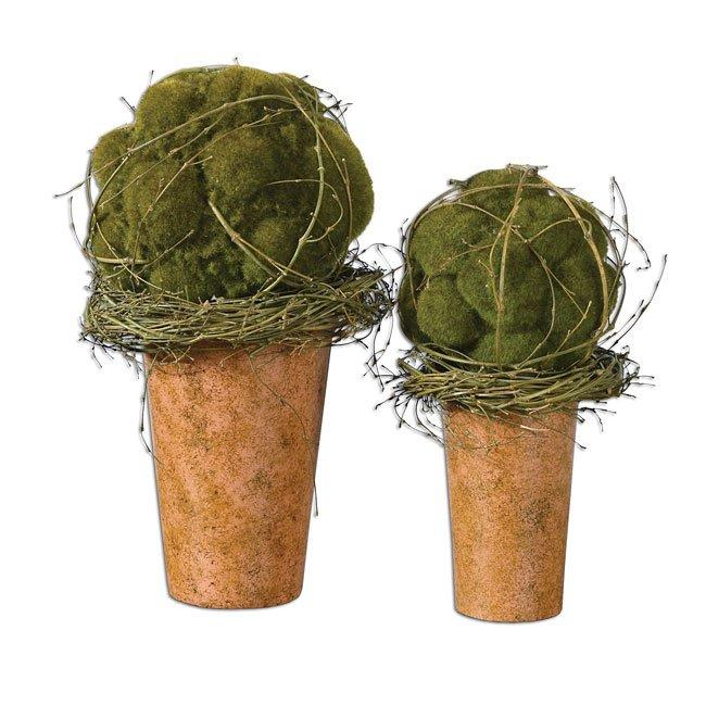 Spring Moss Balls (Set of 2)