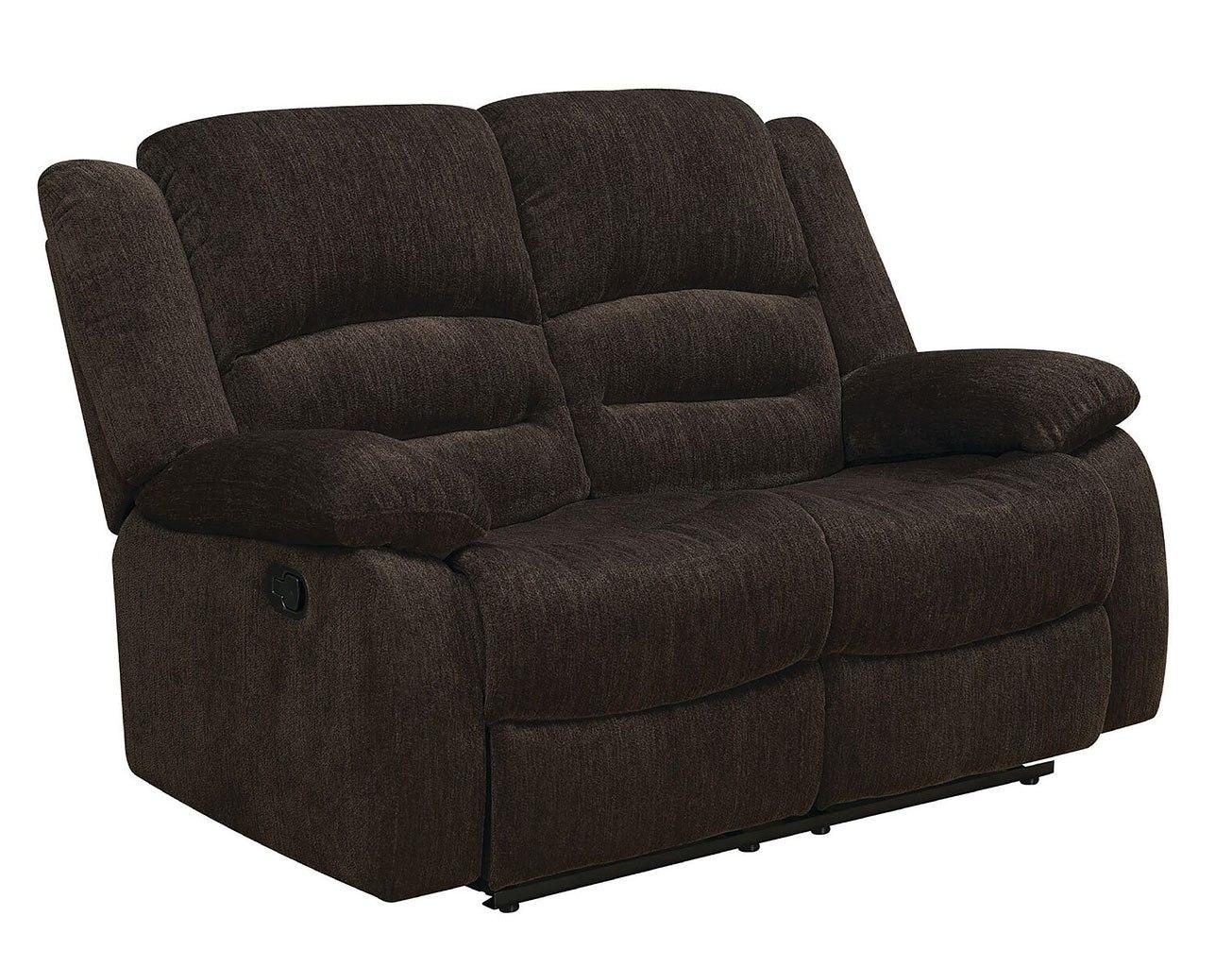 Gordon Reclining Loveseat Coaster Furniture Furniture Cart