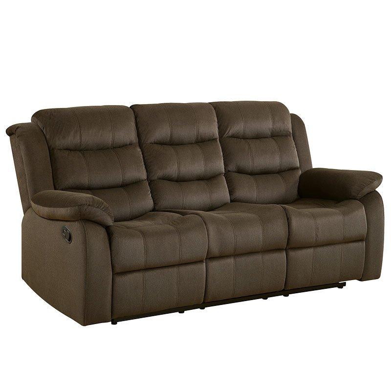 Rodman Reclining Sofa Chocolate Coaster Furniture