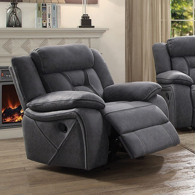 Houston Reclining Living Room Set (Stone) Coaster