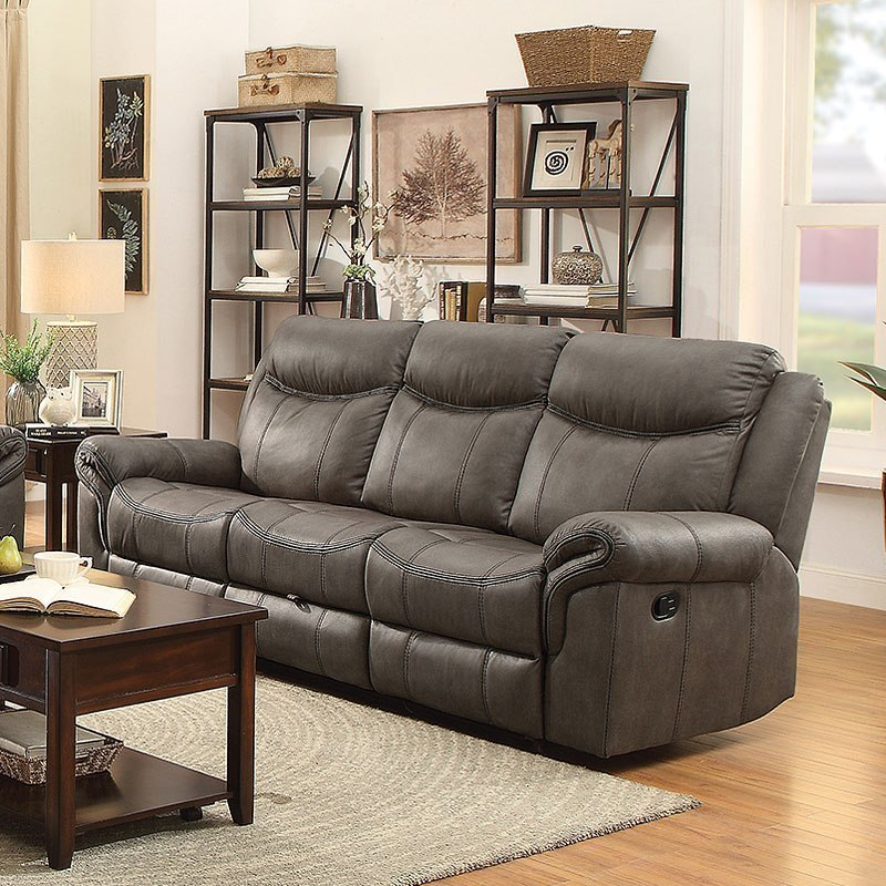 Sawyer Reclining Sofa W Drop Down