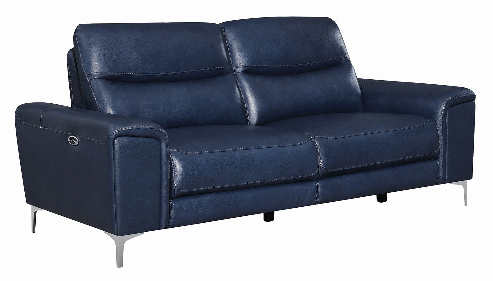 Marvelous Largo Power Reclining Sofa Ink Blue Home Interior And Landscaping Palasignezvosmurscom