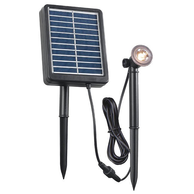 Solar Spotlight .5W (Black)