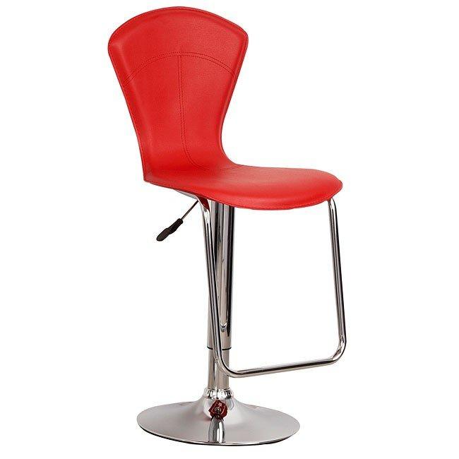 Red Bar Stool (Set Of 2)