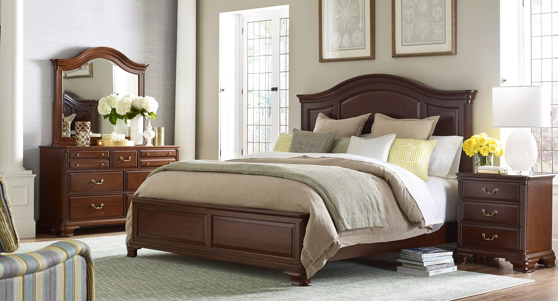Hadleigh Arched Panel Bedroom Set