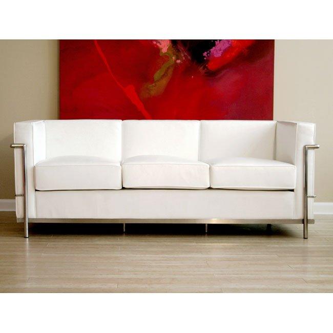 Le Corbusier-Style Sofa (White)